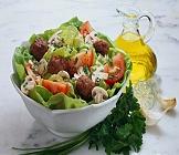 Saláty, pomazánky