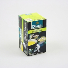DILMAH PURE GREEN TEA 20ks    čínský