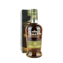 Tomatin 12y 0.7L 43% Bourbon Sherry Cask